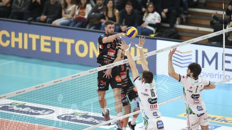 Volley: Superlega, Civitanova risponde a Perugia, Modena supera Verona
