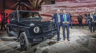 Schwarzy svela la nuova Mercedes Classe G