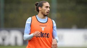 Lazio, il primo allenamento di Caceres a Formello