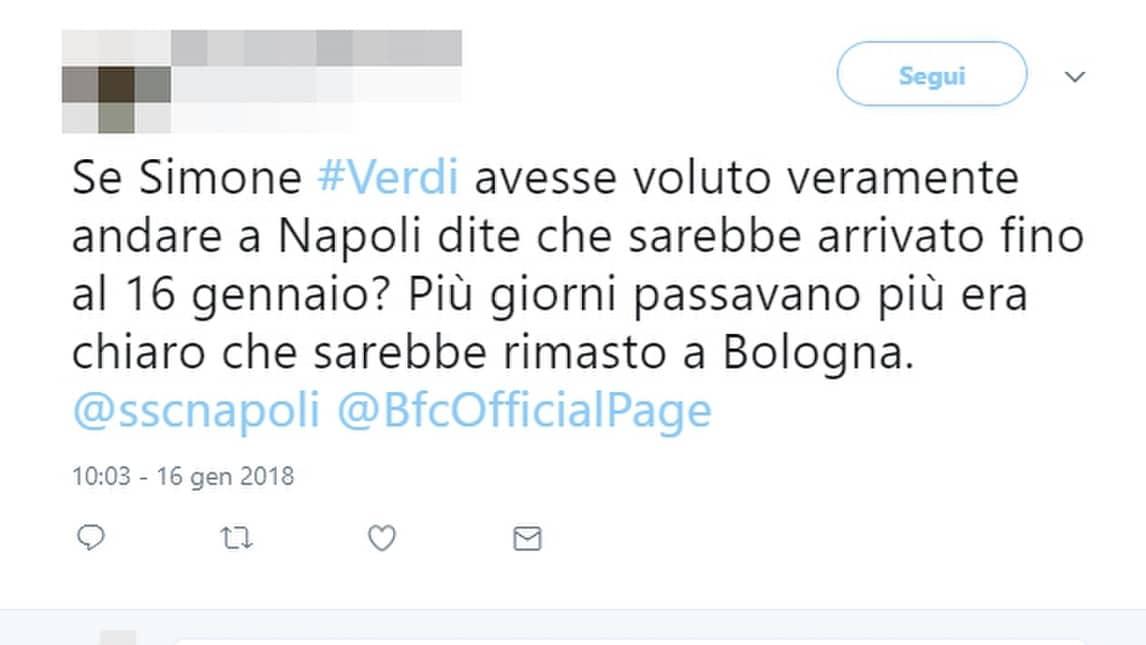 Il rifiuto dell'attaccante del Bologna al trasferimento in azzurro ha fatto infuriare molti tifosi. Altri, invece, pensano già alle alternative