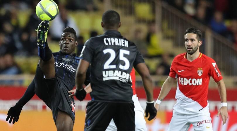 Risultati Ligue 1, Balotelli rallenta il Monaco. E Garcia ne approfitta