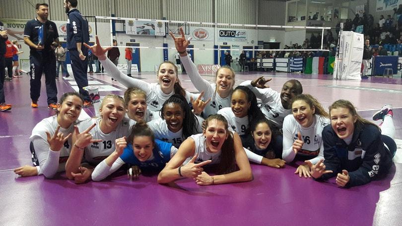 Volley: A2 Femminile, il Club Italia espugna Marsala al tie break