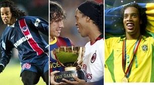 Ronaldinho, una carriera straordinaria tra vittorie, magie e sorrisi