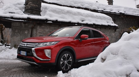 Mitsubishi Eclipse Cross, eclissi integrale: la prova