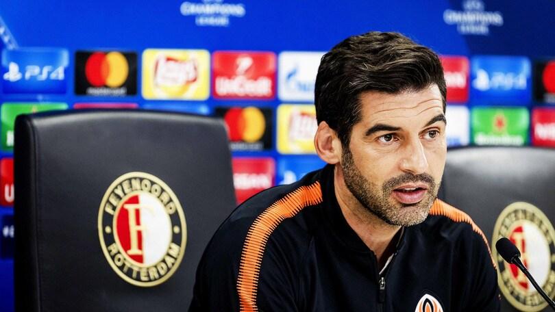 Fonseca: «Roma avversario tosto ma lo Shakhtar è in forma»