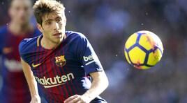 Calciomercato, dalla Spagna: «Barça, rinnovo vicino anche per Sergi Roberto»