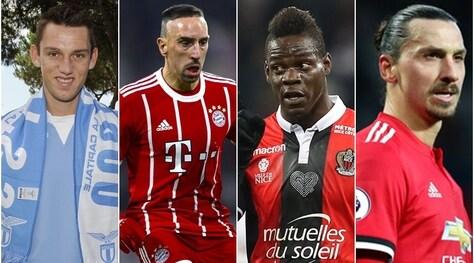 Calciomercato, Top 30: i migliori contratti in scadenza a giugno 2018