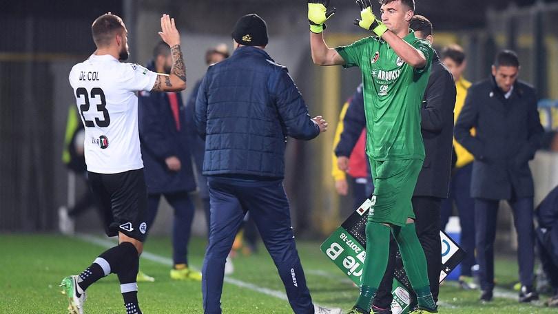 Calciomercato Spezia, Saloni va in prestito alla Virtus Francavilla
