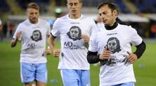 Adesivi antisemiti, la Procura Figc chiede due turni a porte chiuse per la Lazio