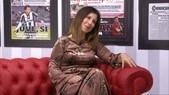 Michela Andreozzi: «L'uomo che guarda una partita a casa si abbrutisce»