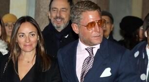 Lapo Elkann e Camila Raznovich star al matrimonio di Cracco