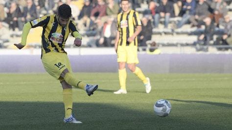 Serie C Carrarese-Viterbese 0-1, decide Baldassin