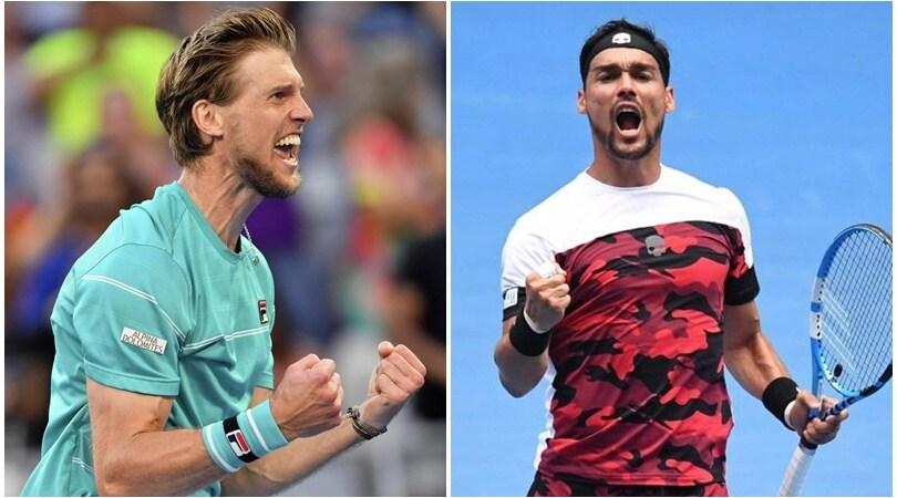 Australian Open: due azzurri agli ottavi, non accadeva dal 1976