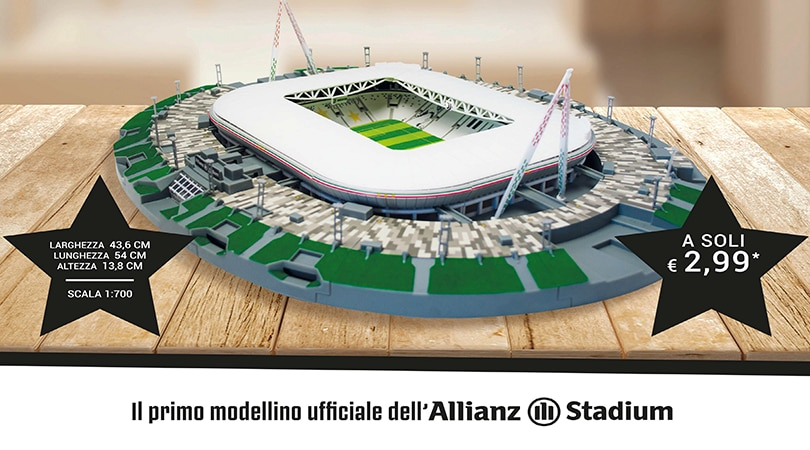 Costruisci l'Allianz Stadium