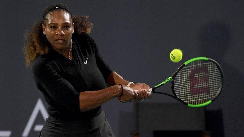 Tennis: Serena Williams torna al torneo diIndian Wells