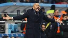 Spalletti: «L'Inter sta bene ed è pronta per la Roma»