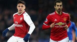 Premier League, è fatta: Sanchez al Manchester United,Mkhitaryan all'Arsenal