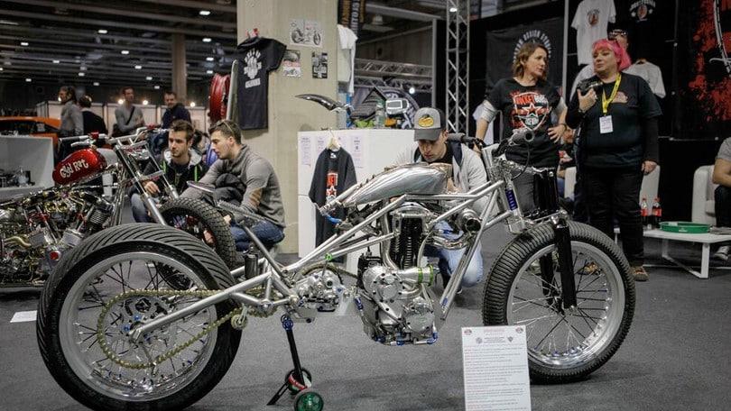 "Motor Bike Expo: custom ""regine"" di Verona"