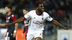 Milan vince a Cagliari 2-1: doppio Kessié risponde a Barella