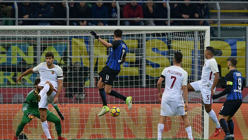 Serie A, Inter-Roma 1-1: Vecino risponde a El Shaarawy, Alisson non basta