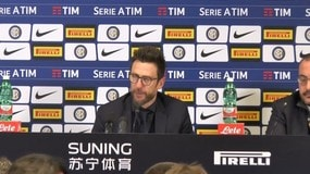 """Di Francesco: """"Mercato? Ho parlato coi giocatori di professionalità"""""""