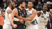 Basket Serie A, tre giornate di squalifica ad Alessandro Gentile