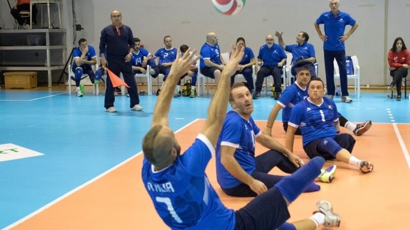 Sitting Volley: gli azzurri al IV meeting