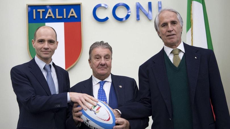 Sei Nazioni, Malagò e Gavazzi: «Ora bisogna vincere»