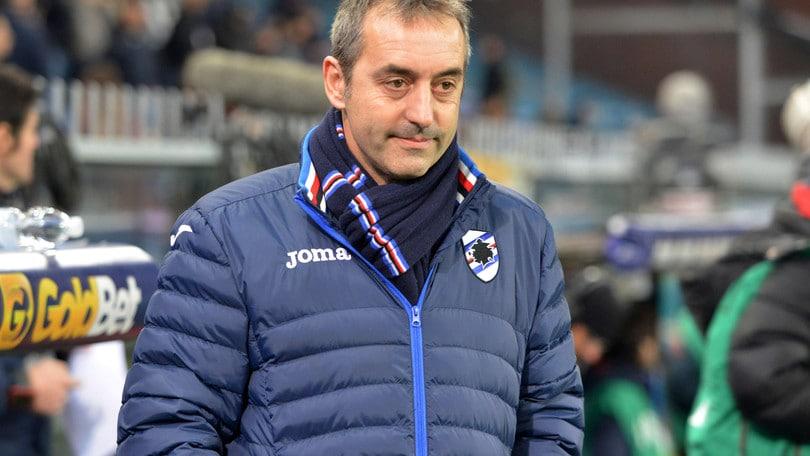 Serie A Sampdoria, Giampaolo: «Peccato aver preso gol all'ultimo»