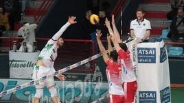 Volley: Superlega, Trento vince il recupero in quattro set
