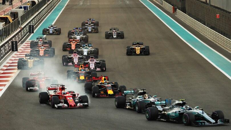 F1, i gran premi saranno solo su Sky