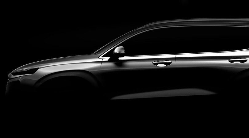 Hyundai Santa Fe, la quarta generazione arriva a Ginevra