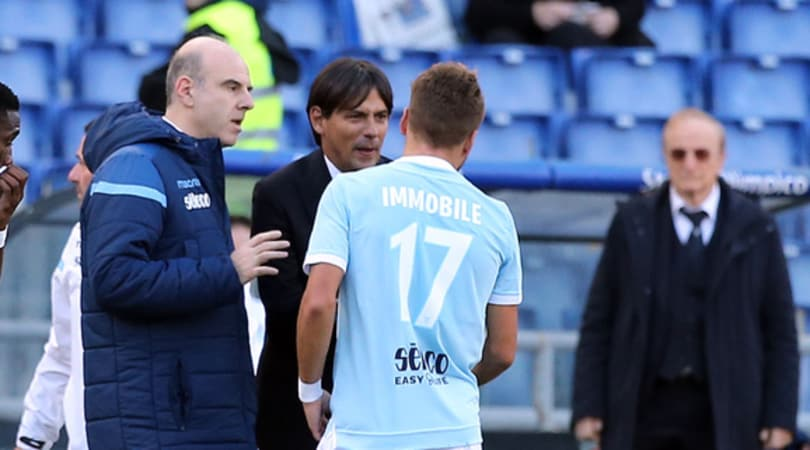 Lazio, Immobile tenta il recupero in vista del Milan