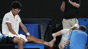Australian Open, Chung si ritira