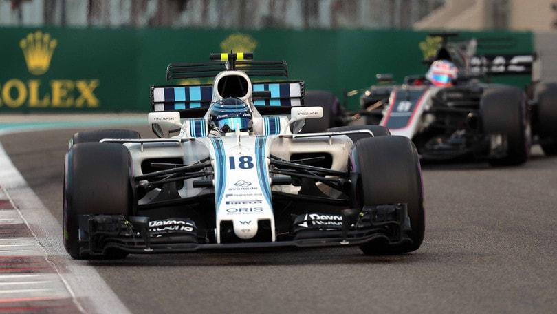 F1, la nuova Williams si svela il 15 febbraio