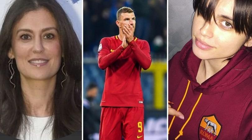 Roma, due donne tra Dzeko e il Chelsea