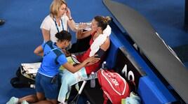 Australian Open, controlli medici per Simona Halep e CarolineWozniacki