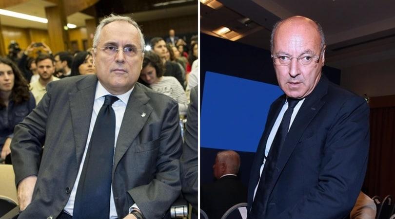 «Lega Calcio, nervi tesi: rissa sfiorata tra Marotta e Lotito»