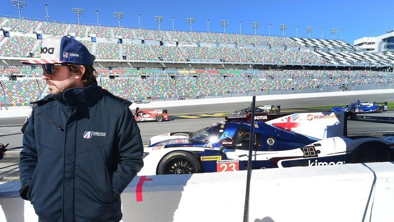 Daytona, Alonso: «Le qualifiche non sono importanti»