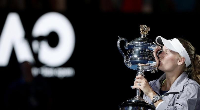 Tennis, Caroline Wozniacki vince l'Australian Open