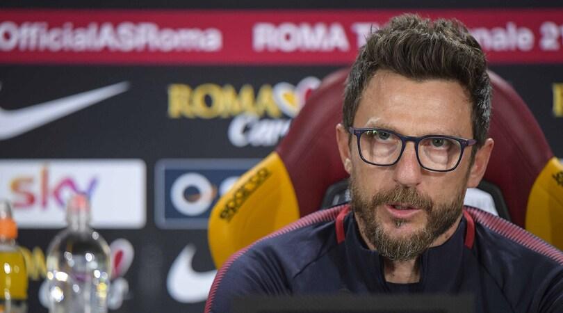 Roma, Di Francesco: «Dzeko a disposizione. La trattativa non mi condiziona»