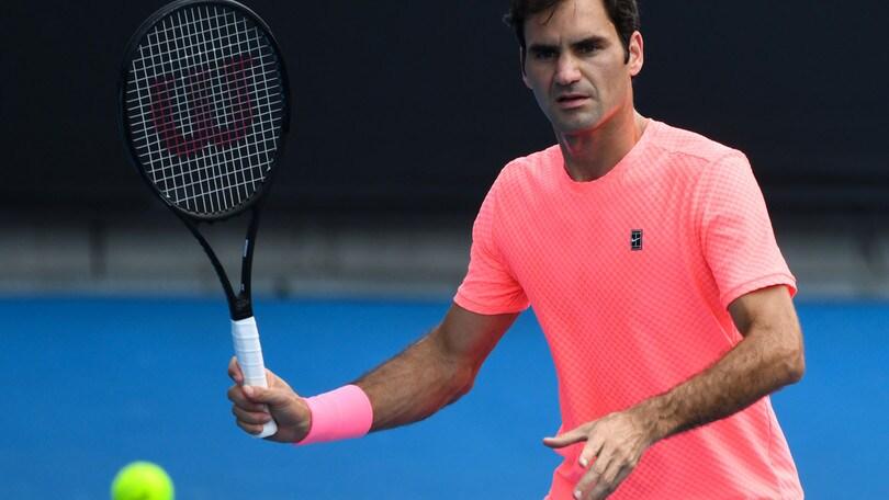 Tennis, Australian Open: Federer super favorito contro Cilic