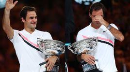 Australian Open, Federer nella storia: sesta coppa e lacrime