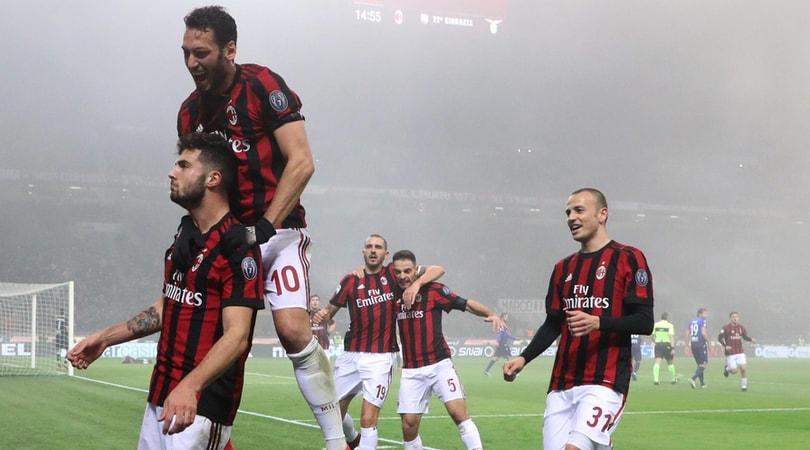 Serie A, Milan-Lazio 2-1: terza vittoria consecutiva per Gattuso