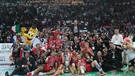 Volley: Coppa Italia, Perugia festeggia, battuta la Lube