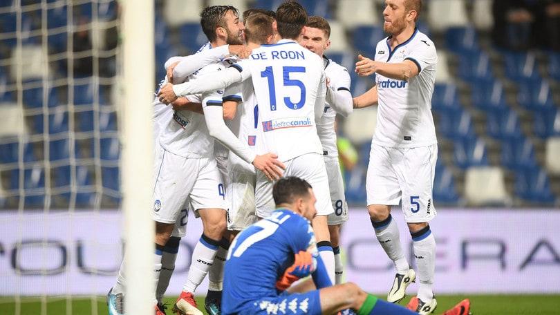 Coppa Italia, il colpo Atalanta paga 3,40