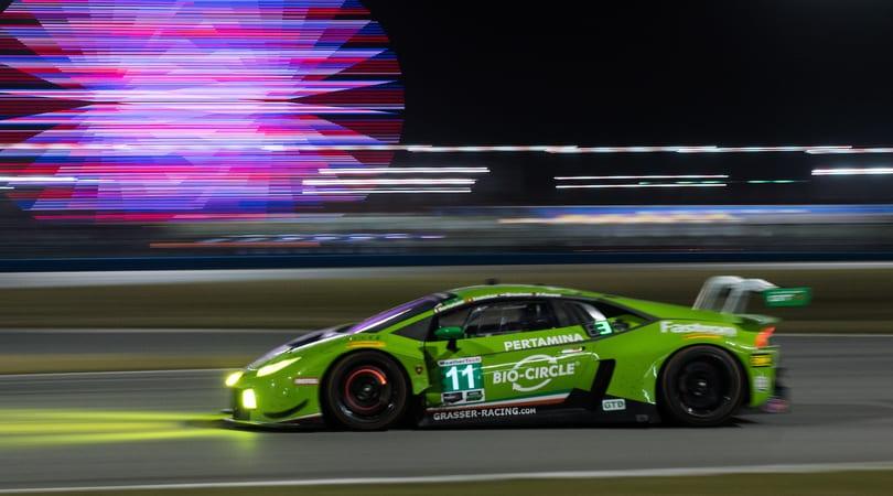24 Ore di Daytona, con Lambo e Dallara è un successo italiano
