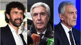 Elezioni Figc: i programmi dei candidati alla presidenza