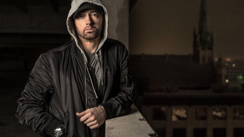 Eminem, primo live in Italia