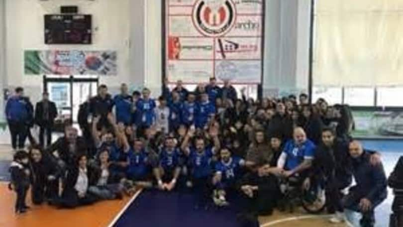 Sitting Volley: Italia-Bosnia a Nola davanti a 1000 studenti